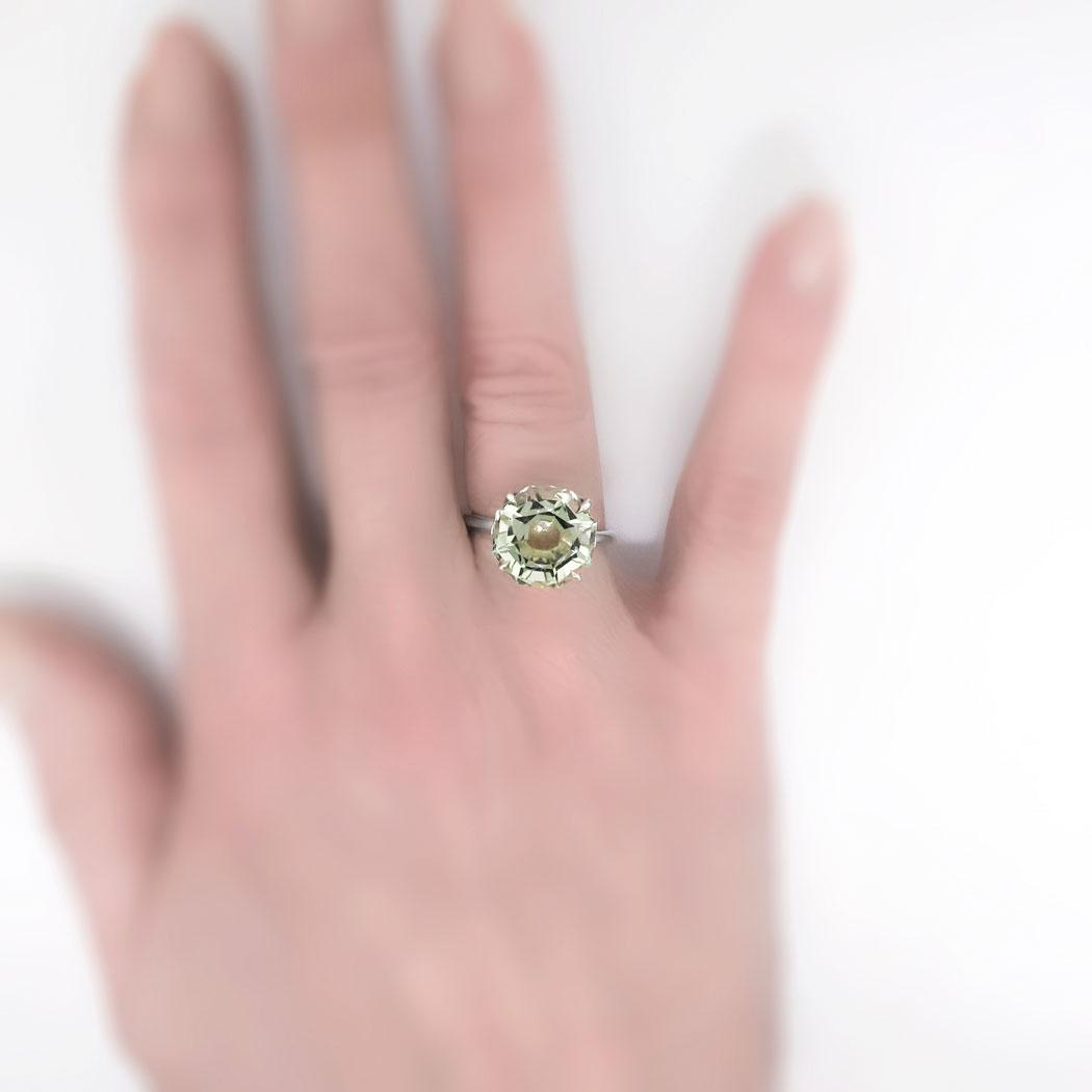 Prasiolite Ring Tiffany - New Image Ring Aintnoneed.Org