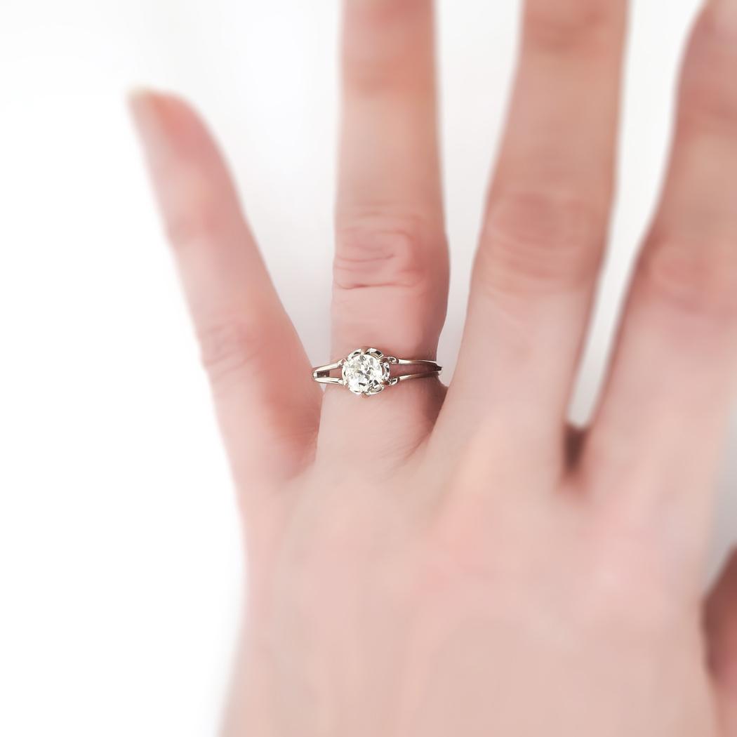 Russian Wedding Ring Hand