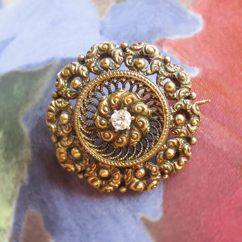 antique signature pin