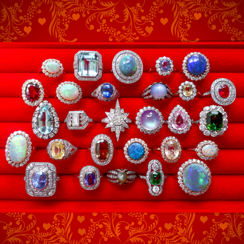 Fine Vintage Jewelry for Romantic Valentine Gifts