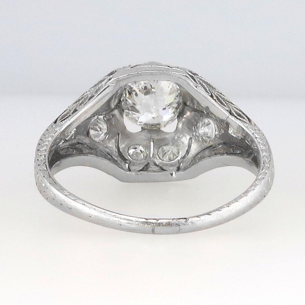 Elegant Edwardian Old European Cut Diamond Engagement Ring. Old Rings. Rectangle Radiant Cut Engagement Rings. Rhodium Engagement Rings. Classy Gold Wedding Rings. .60 Engagement Rings. New Rings. Square White Engagement Rings. Plated Wedding Rings