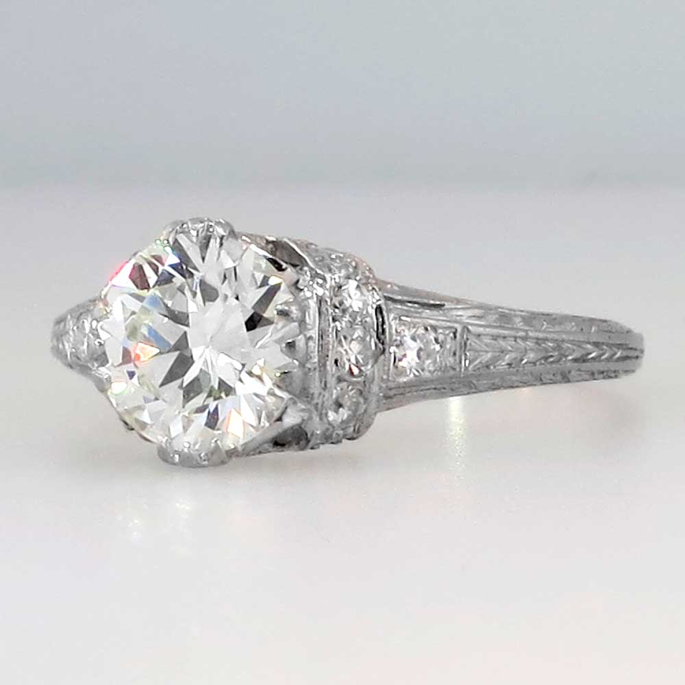 Timeless Art Deco 141ctw Diamond Platinum Engagement Ring. Sky Blue Engagement Rings. Boho Wedding Rings. Homemade Engagement Rings. Soft Pink Wedding Rings. V Band Engagement Rings. Album Engagement Rings. Beloved Engagement Rings. $4000 Wedding Rings