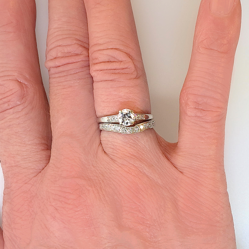 Wedding Bands For Curved Engagement Rings