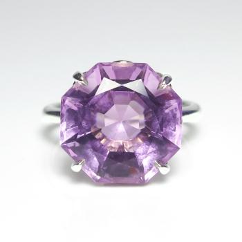 Estate Tiffany Amp Co Octagon Natural Purple Amethyst