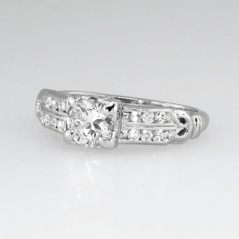 Understated Elegant Art Deco Diamond Engagement Ring. Jeans Rings. 14k Rings. Black Opal Wedding Rings. Strapless Rings. 9ct Gold Engagement Rings. Emerald Green Rings. Large Round Diamond Wedding Rings. Period Wedding Rings