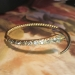 Antique Bracelet Victorian 1860's Table Old Mine Cushion Cut Diamond Serpent Snake Wrap Cuff Bracelet 18k Yellow Gold