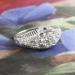 Vintage Art Deco .85ct t.w. Diamond Engagement Anniversary Wedding Ring Platinum