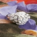 Vintage Art Deco 1930's 1.36ct t.w. Diamond Engagement Anniversary Wedding Ring Platinum