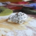 Vintage Art Deco 1930's Old European Cut Diamond Engagement Wedding Anniversary Cocktail Ring Platinum